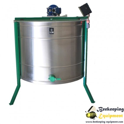 Cassette honey extractor with 10 frames - automatic full inox