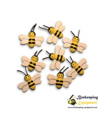 Decorative wooden bees