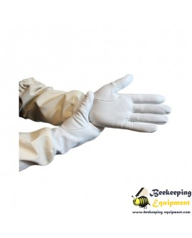 Beekeeping gloves leather