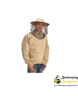 Beekeeping sweatshirt with hat and zipper