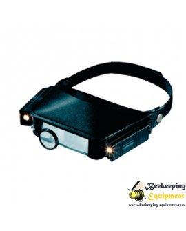 Magnifier head light
