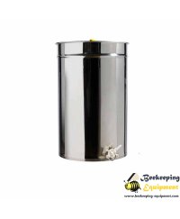 Stainless honey pot 500 lit