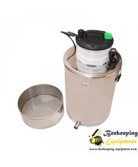 Wax melter steam