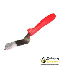 Uncapping fork stainless red