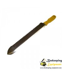 Proffesional uncapping knife with plastic handle