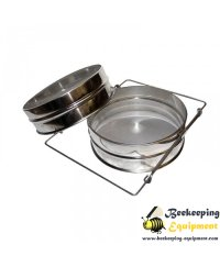 Stainless steel honey filter 24cm