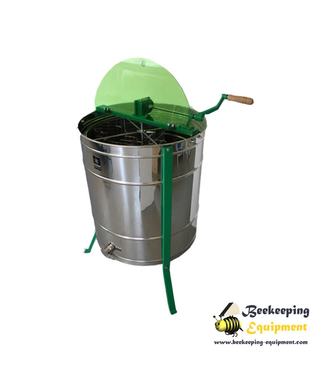 Honey extractor 4 frames with inversion full inox