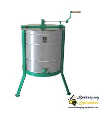 Tangential honey extractor with 3 frames - Inox basket
