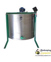 Cassette honey extractor with 8 frames - automatic full inox