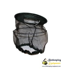 Beekeeping veil waterproof green