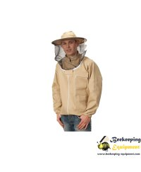 Φούτερ Μελισσοκομίας με καπέλο & φερμουάρ