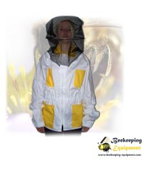 Beekeeping jacket colored cotton